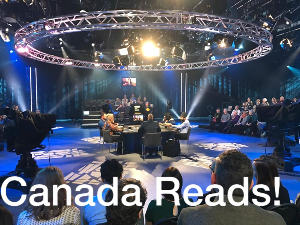 Photo of the Canada Reads set!